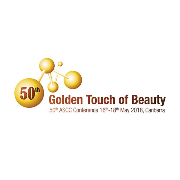 Australian Society of Cosmetic Chemists (ASCC) Annual Conference 2018 – Golden Touch of Beauty. 16th-18th of May 2018, Canberra